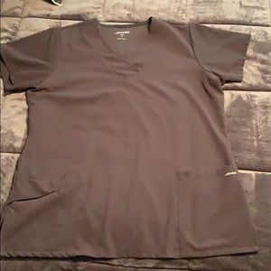 Jockey stretch fit scrub shirt size large